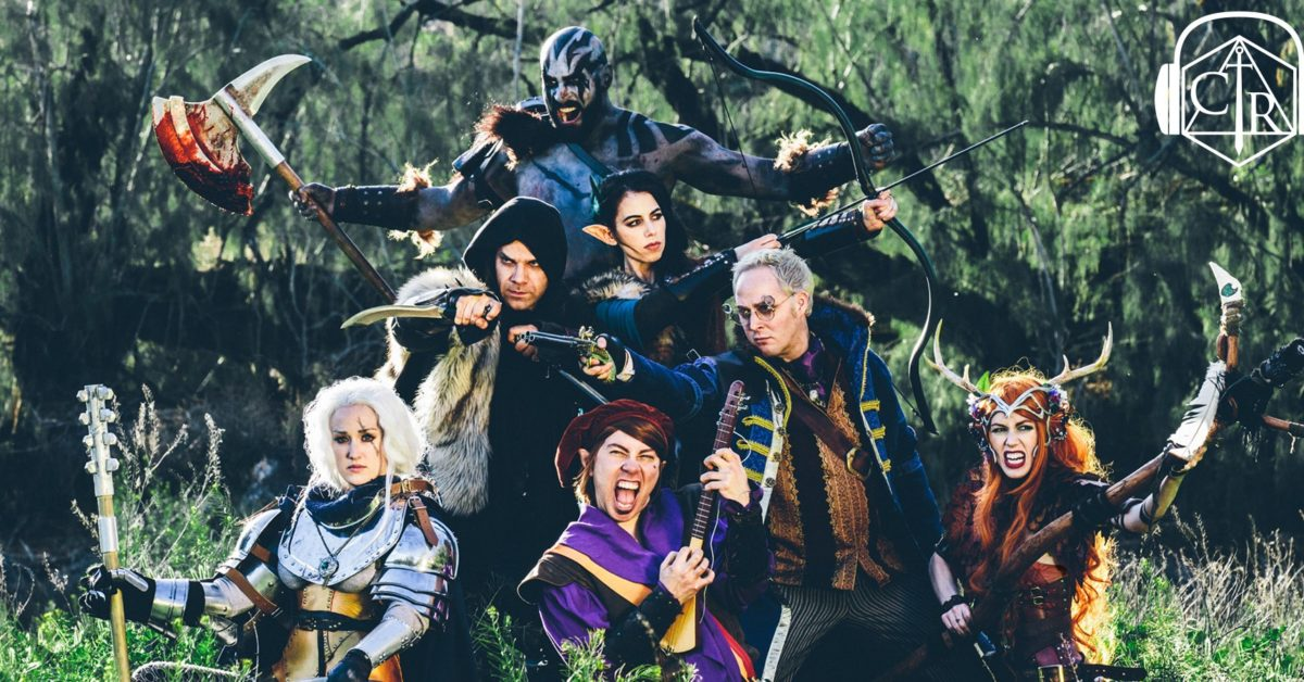 Critical Role : Vox Machina cast