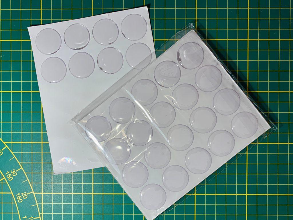 Cabochons en silicone